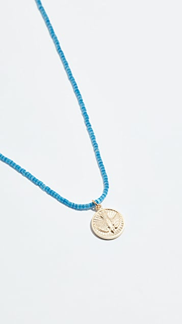 Shashi Blue Jean Baby Necklace