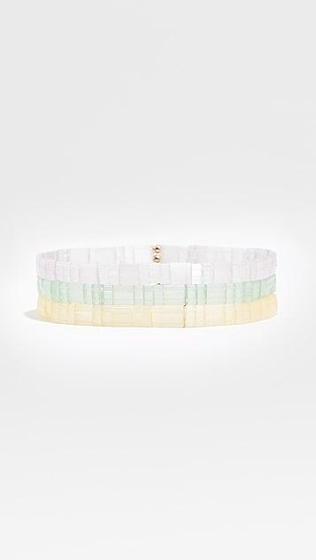 Shashi Tilu Mermaid Bracelet Set