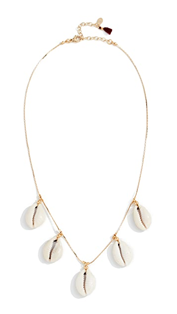 Shashi Caroline Charm Necklace