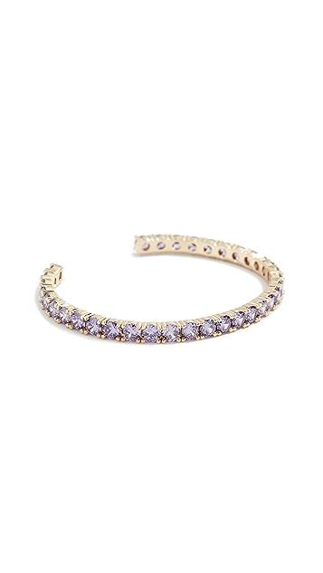 Shashi Bianca Cuff Bracelet