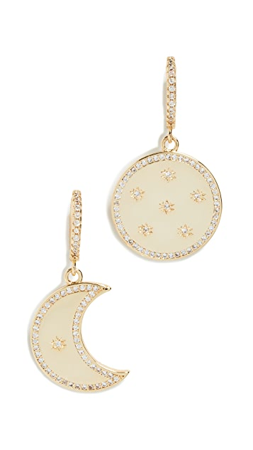 Shashi Milana Huggie Earrings