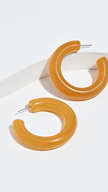 Shashi Clueless Hoop Earrings