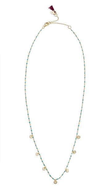Shashi Multi Disc Necklace
