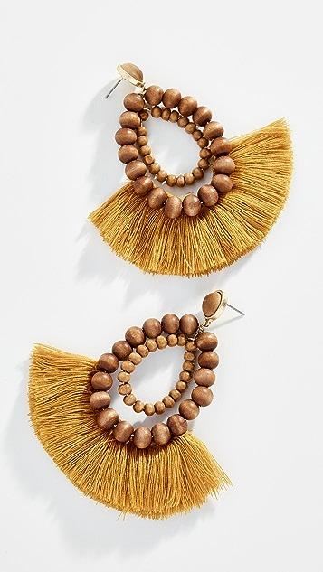 Shashi Rio Fringe Earrings