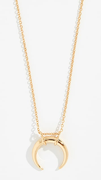 Shashi Crescent Necklace