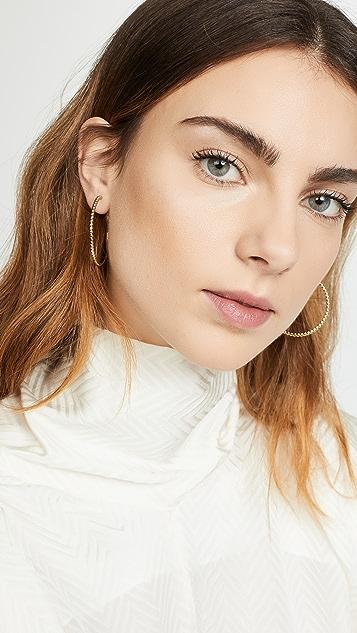 Shashi Asha Hoop Earrings