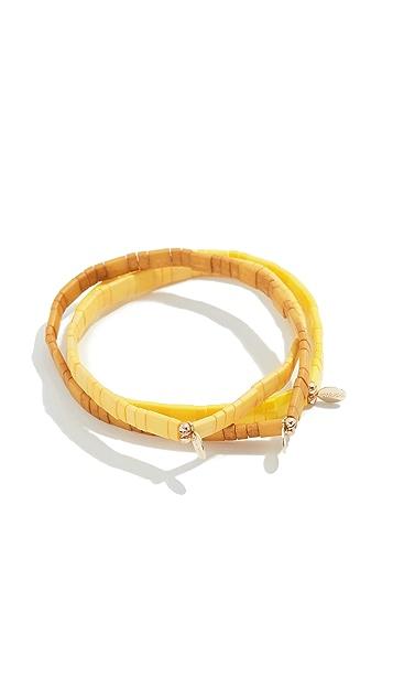 Shashi Ambra Bracelet Set