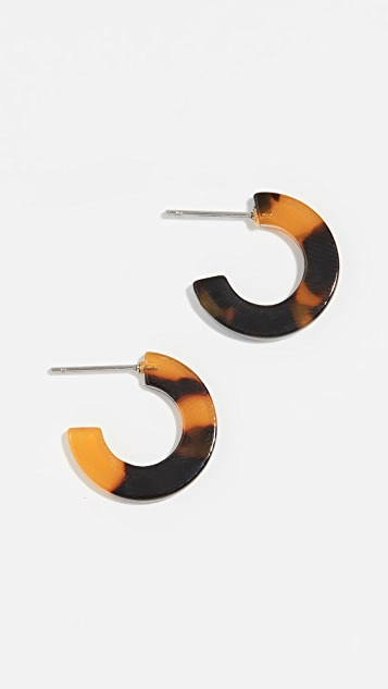 Shashi Baby Tort Hoop Earrings