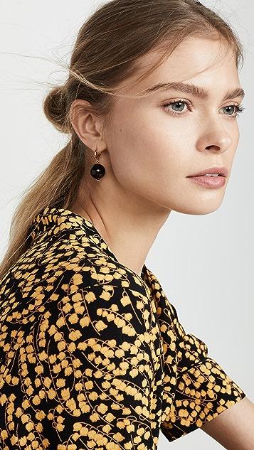 Shashi Jewel Quartz Earrings
