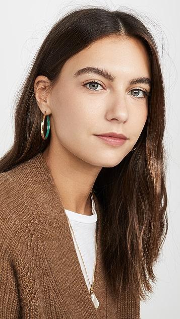 Shashi The Hilton Hoop Earrings