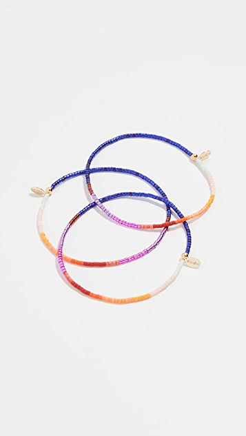 Shashi The Gang Bracelet Set of 3