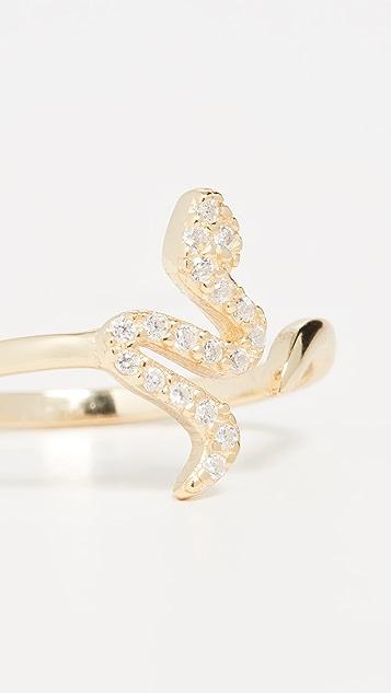 Shashi 蛇纹戒指