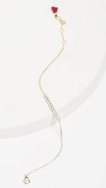 Shashi Bezel Bracelet