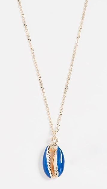 Shashi Deep Blue Sea Necklace - Cobalt