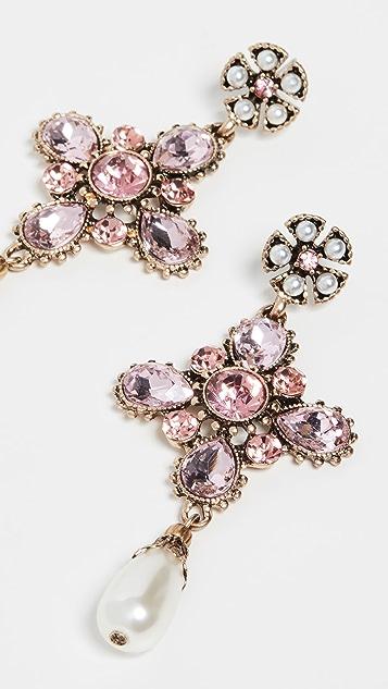 Shashi Empress Earrings - Pink