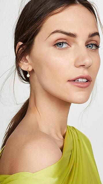 Shashi Sparkly Sky Huggie Earrings