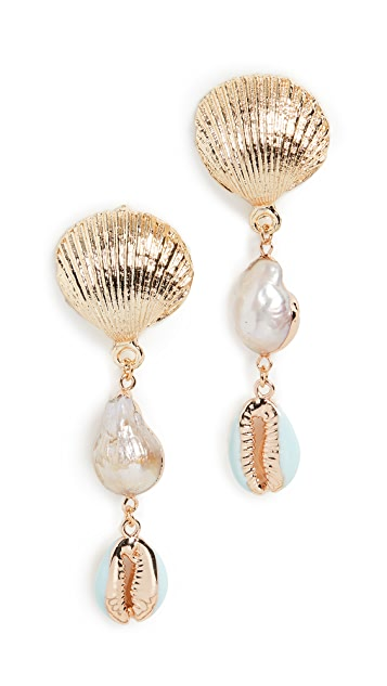 Shashi Mermaid Earrings