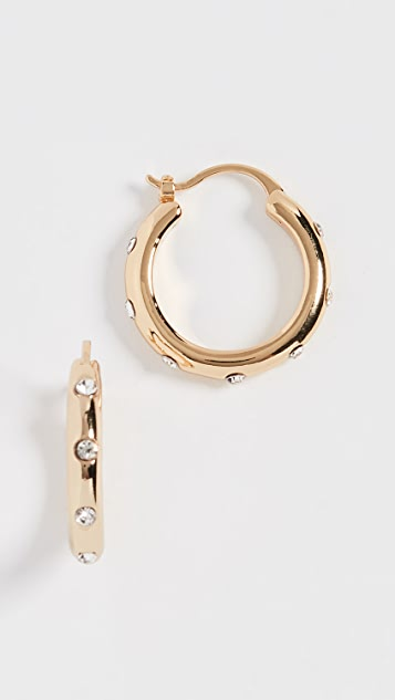Lauren Hoop Earrings by Shashi