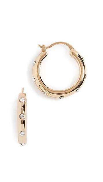 Shashi Серьги-кольца Lauren