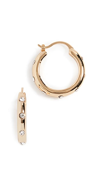 Shashi Lauren 圈式耳环