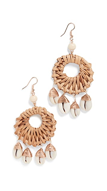 Shashi Island Earrings