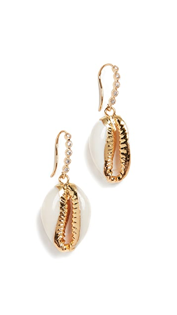 Shashi Pave Caroline Earrings