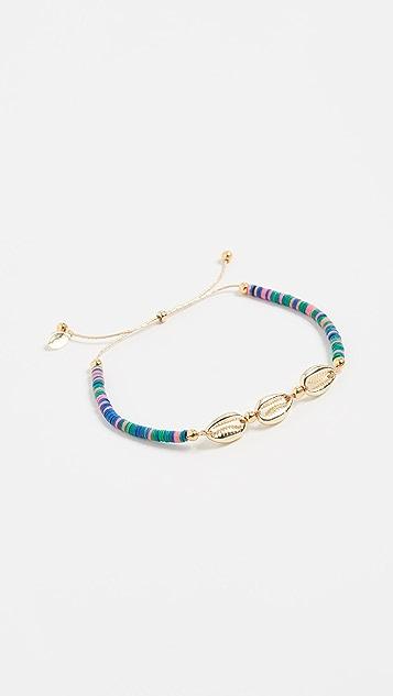 Shashi 波罗的海多色滑扣手链