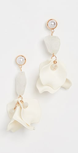 SHASHI - Orchid Earrings
