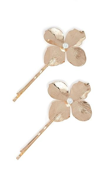 SHASHI Gold Blossom Pins