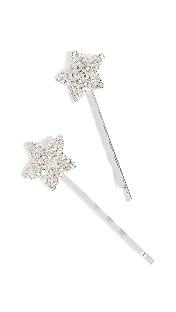 Shashi Crystal Star Bobby Pins