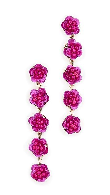 Shashi English Rose Earrings