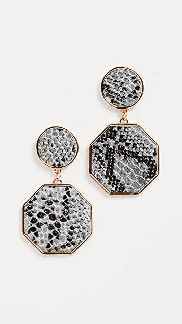 Shashi Boa Earrings