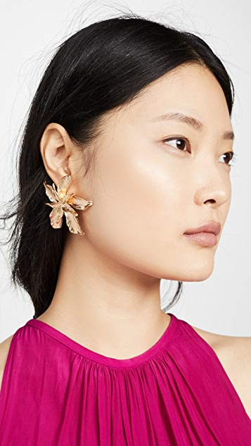 Shashi Passionflower Earrings