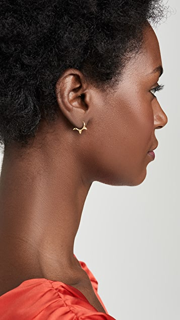 Shashi Revolver Hoop Earrings