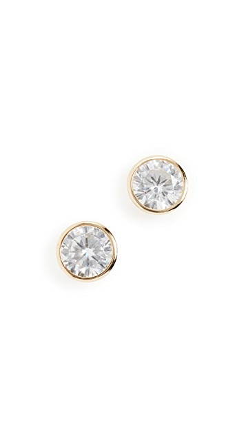 Shashi Solitaire Studs