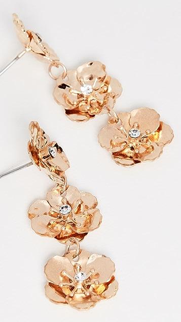 Shashi Gold Garden Earrings