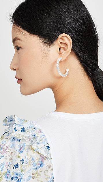 Shashi Princess Leia Hoop Earrings