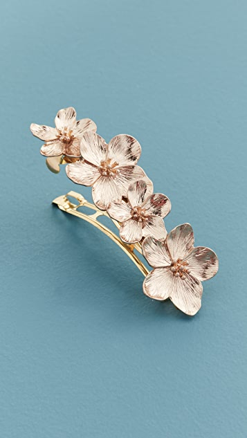 Shashi Passion Flower Barrette