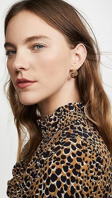 Shashi Honor 圈式耳环