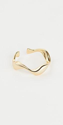 Shashi - Petite Liquid Metal Ring