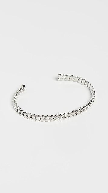 SHASHI Chain Cuff Bracelet
