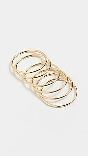Shashi Classique 戒指套装