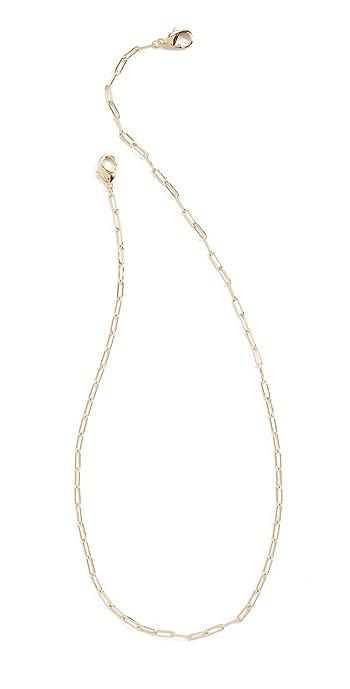 Shashi Gold Patron Mask Chain - Gold