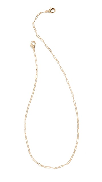 SHASHI Gold Patron 面罩链
