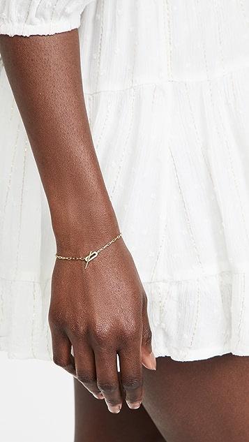 SHASHI Jade Pave Bracelet