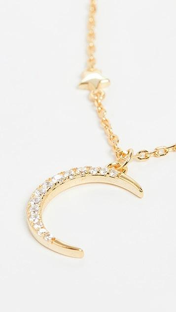 SHASHI Eclipse Necklace