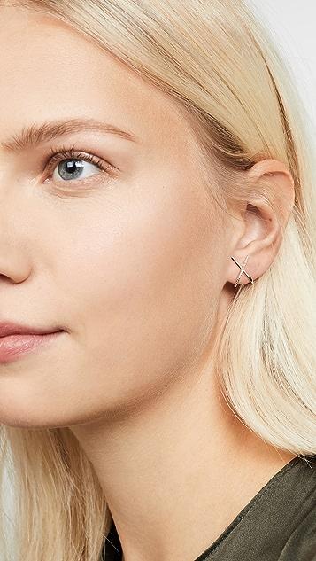 SHASHI Kriss Kross Earrings