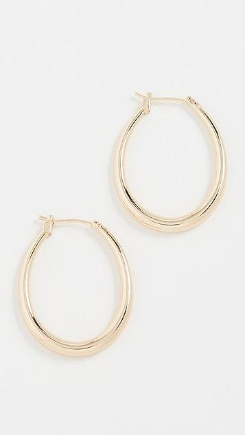 SHASHI Ovale Hoops