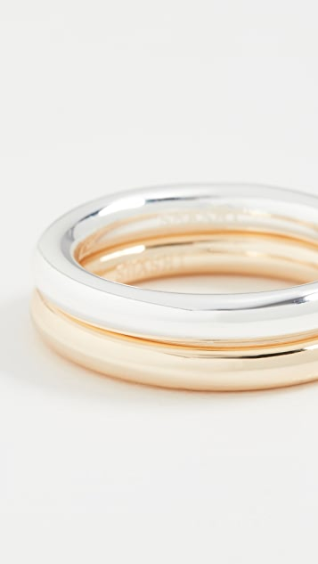 SHASHI Remix Ring Set