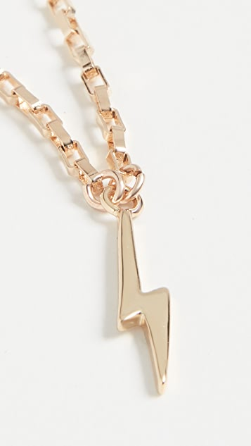 SHASHI Lightning Bolt Necklace